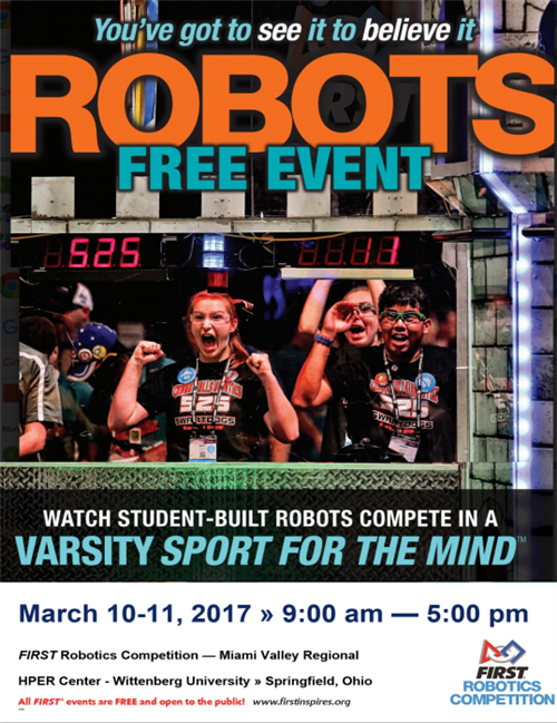 Robotics Invitational Poster March 2017