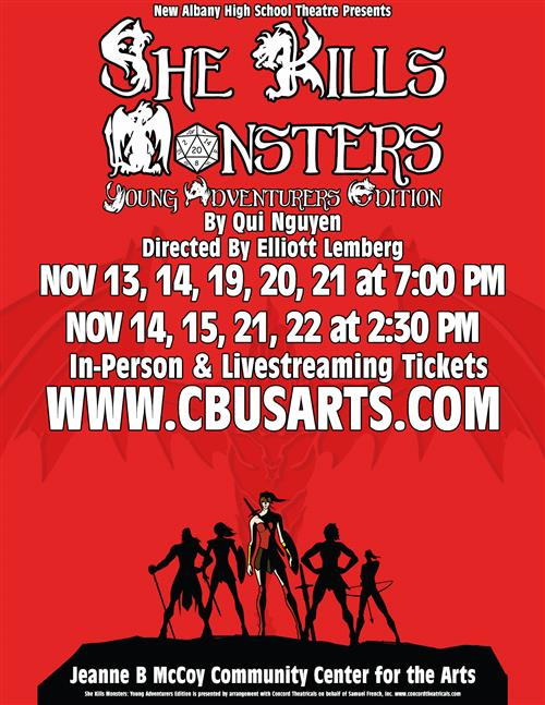 She Kills Monsters promotional poster