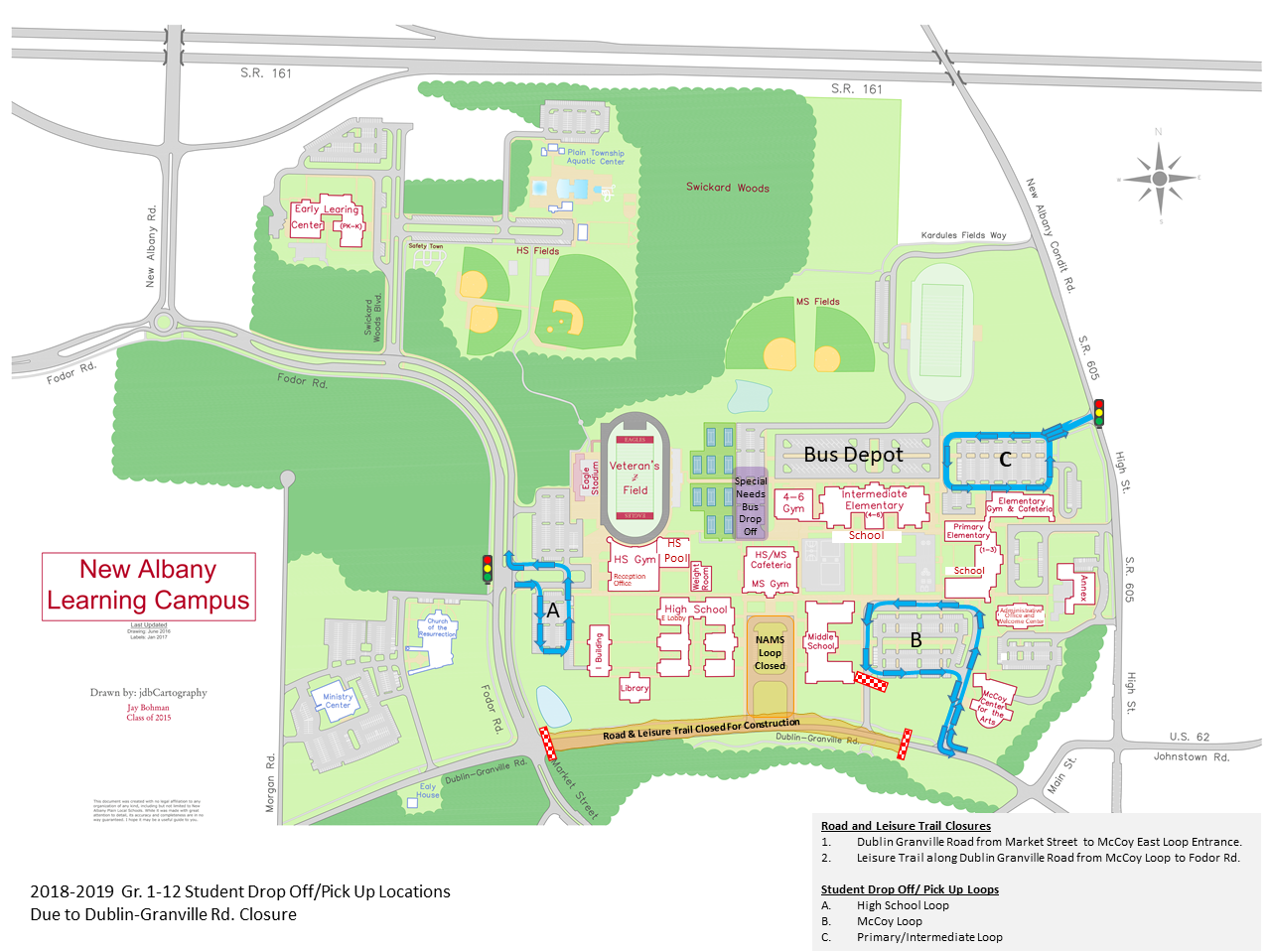Learning Campus Map