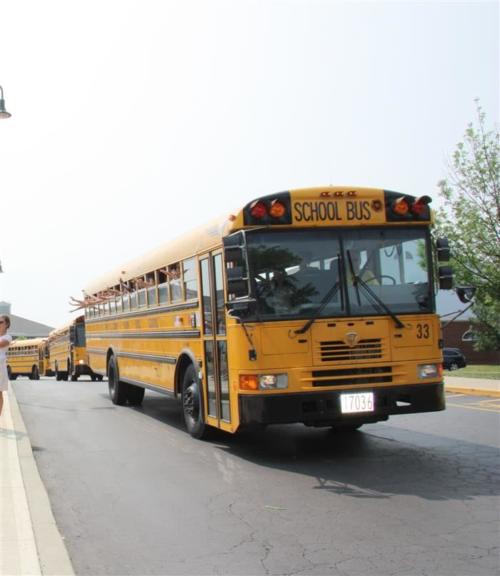 Image of New Albany School Bus