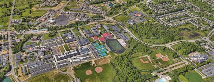 Arial View of NAPLS Campus
