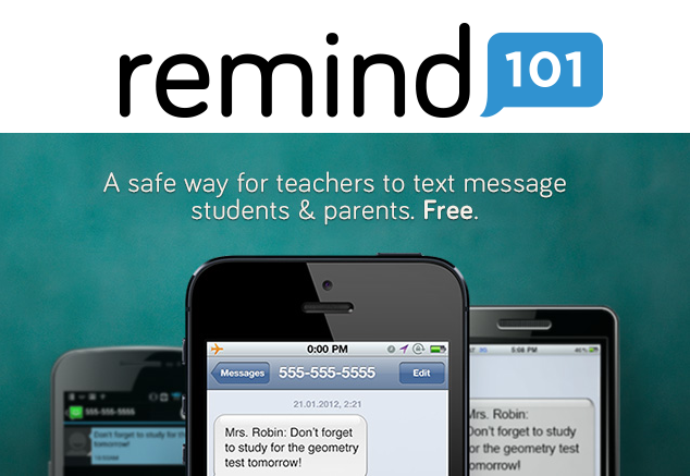 Sign Up for Remind 101 Now!