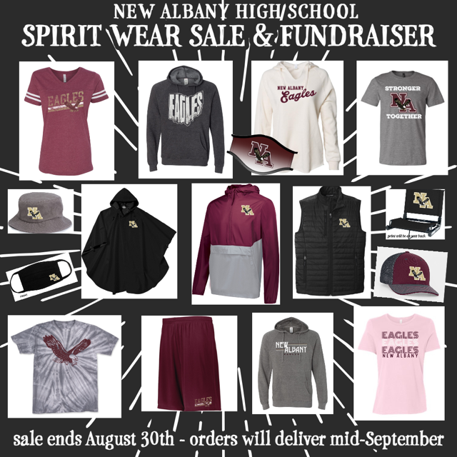 NAHS Spirit Wear Sale Flyer