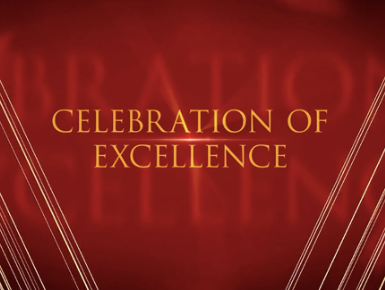 Celebration of Excellence - Video now posted
