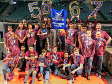 Two Teams Will Head to Robotics World Championship in Detroit