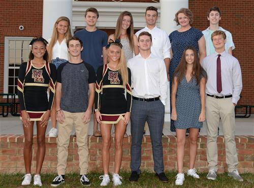 Homecoming court photo 2019