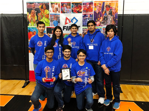 The Antidote Robotics team