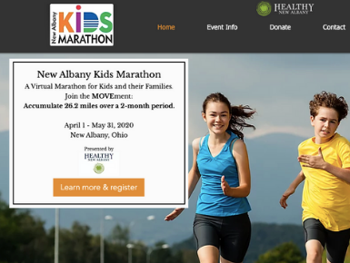 Announcing the New Albany Kids Virtual Marathon!