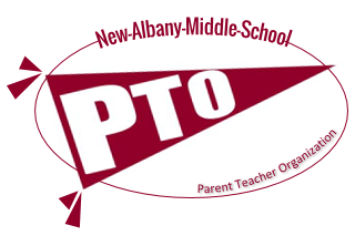New Albany Middle School PTO Logo