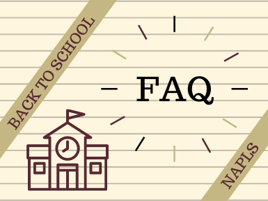 Frequently Asked Questions for Back to School