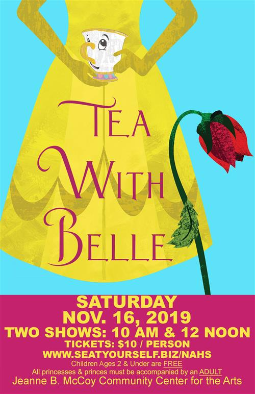 Tea with belle poster