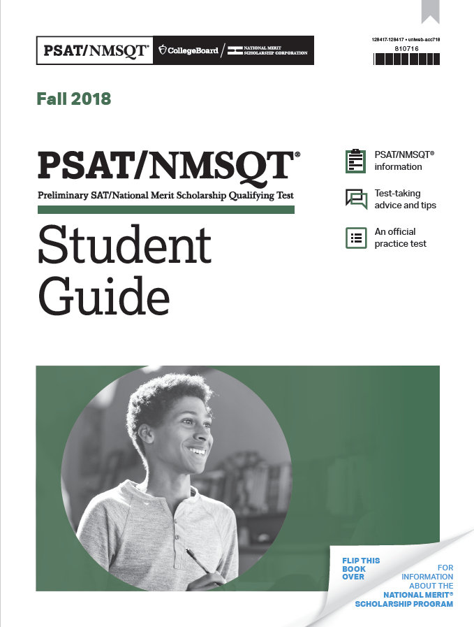 2018 PSAT/NMSQT Official Student Guide