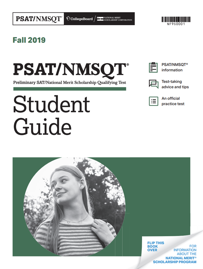 2019 PSAT/NMSQT Official Student Guide