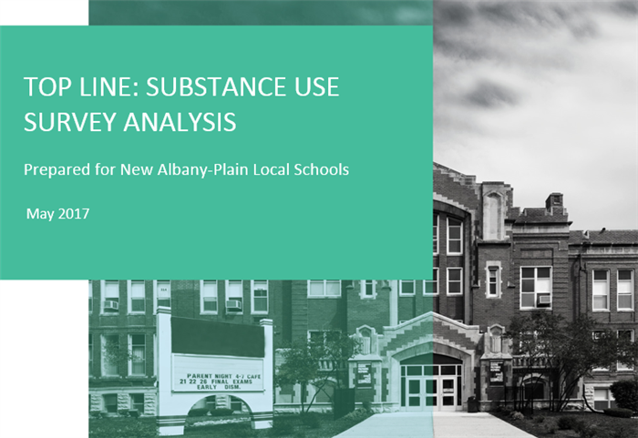cover tile for Substance Use Survey