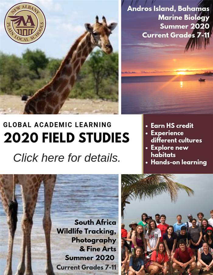 Field Studies Information