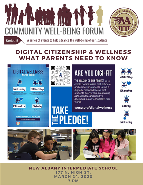 Digital wellness flyer