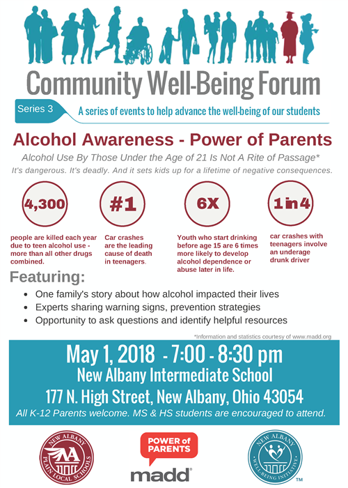 Well Being Forum 3 alcohol flyer
