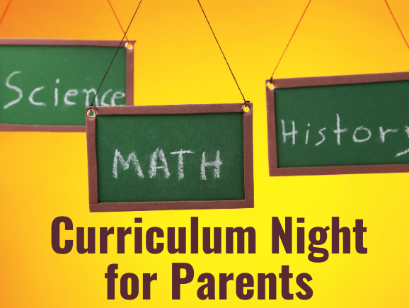 Online Curriculum Nights for Parents