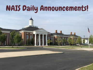 Daily Announcements from New Albany Intermediate School
