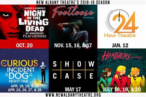 NAHS Theatre Season for 2018-19