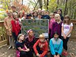 New Albany students visit Rose Run Stream, Nov. 1
